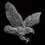 Flying Eagle Pewter Accent Eagle Plaques and Awards